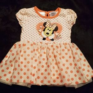 🔥3/$10 ~Disney Baby Girl Skirted Onsie